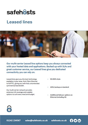 Safe Hosts_Leased lines product sheet_thumbnail